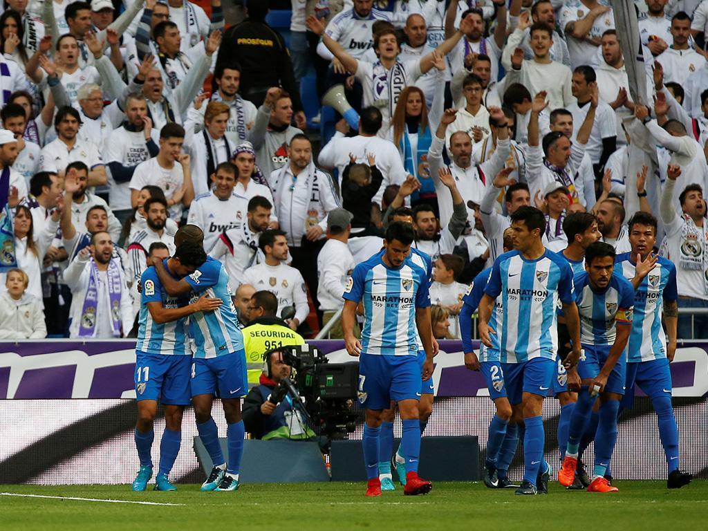 Málaga vence pela primeira vez fora de casa e sai da última posição