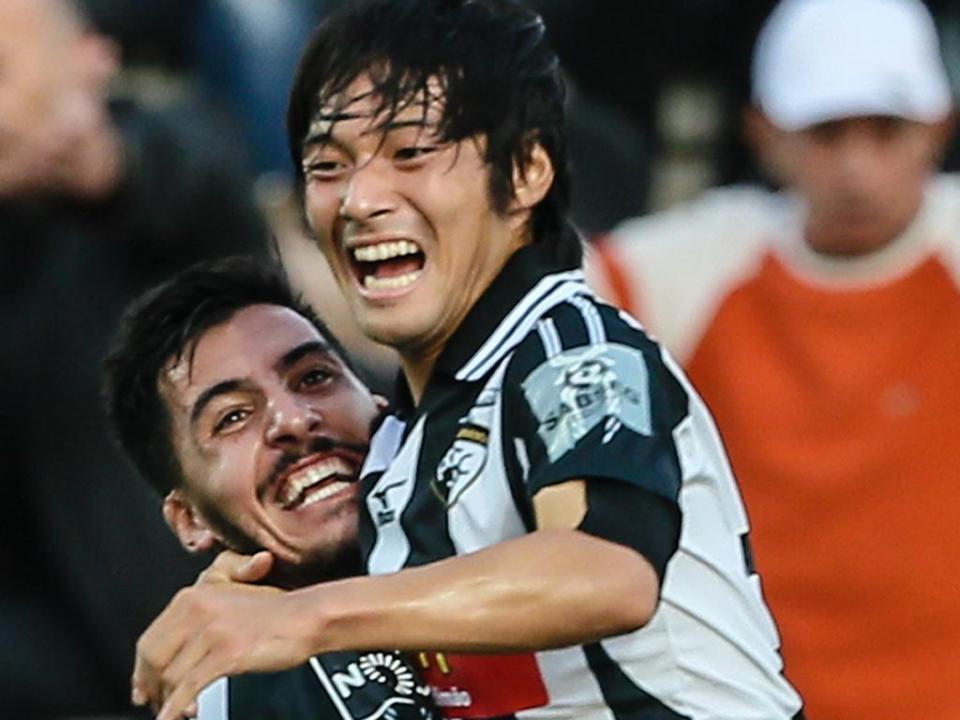 VÍDEO: Rui Faria goleia 6-0 na estreia de Nakajima a marcar