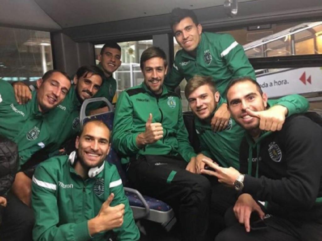 Sporting: Bryan Ruiz seguiu com a equipa para Paços de Ferreira