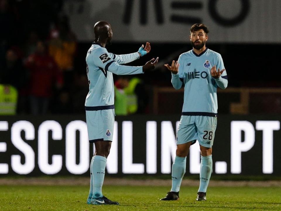 FC Porto: só Dalot não integrou os trabalhos nesta segunda-feira