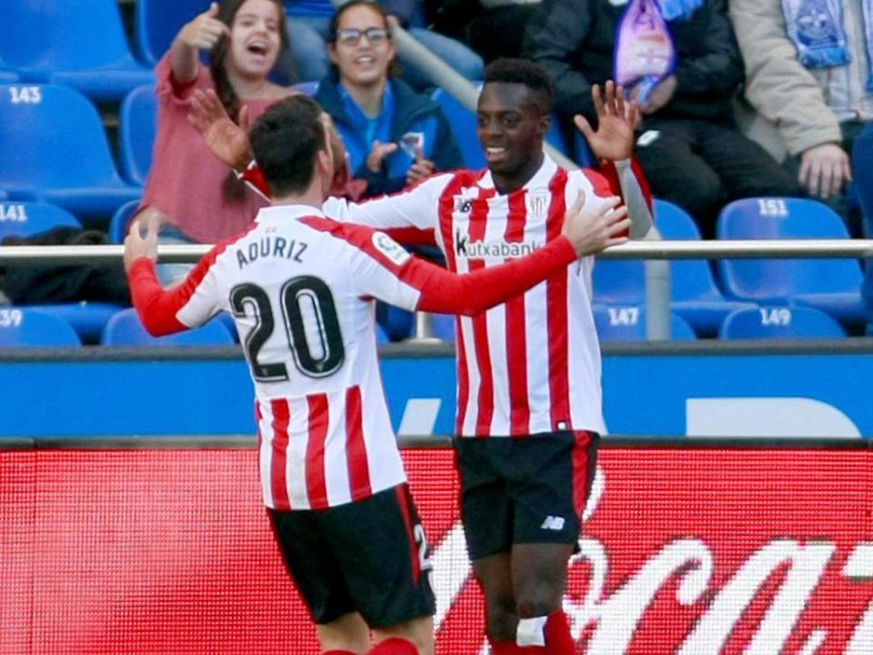 Espanha: Athletic Bilbao regressa às vitórias em Sevilha