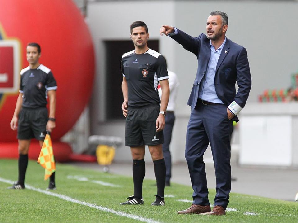 Ivo Vieira: «Estoril teve um comportamento aceitável para bom»