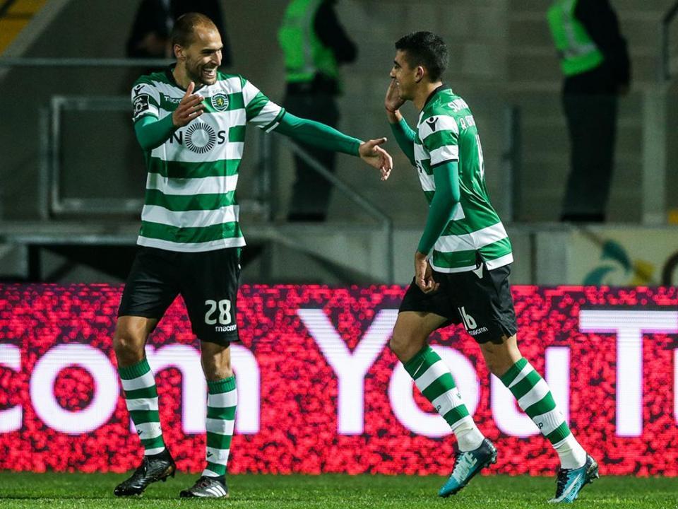 Paços Ferreira-Sporting, 1-2 (resultado final)
