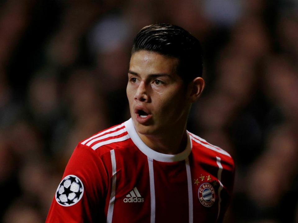 James Rodríguez: «Fico no Bayern Munique, estou muito feliz lá»
