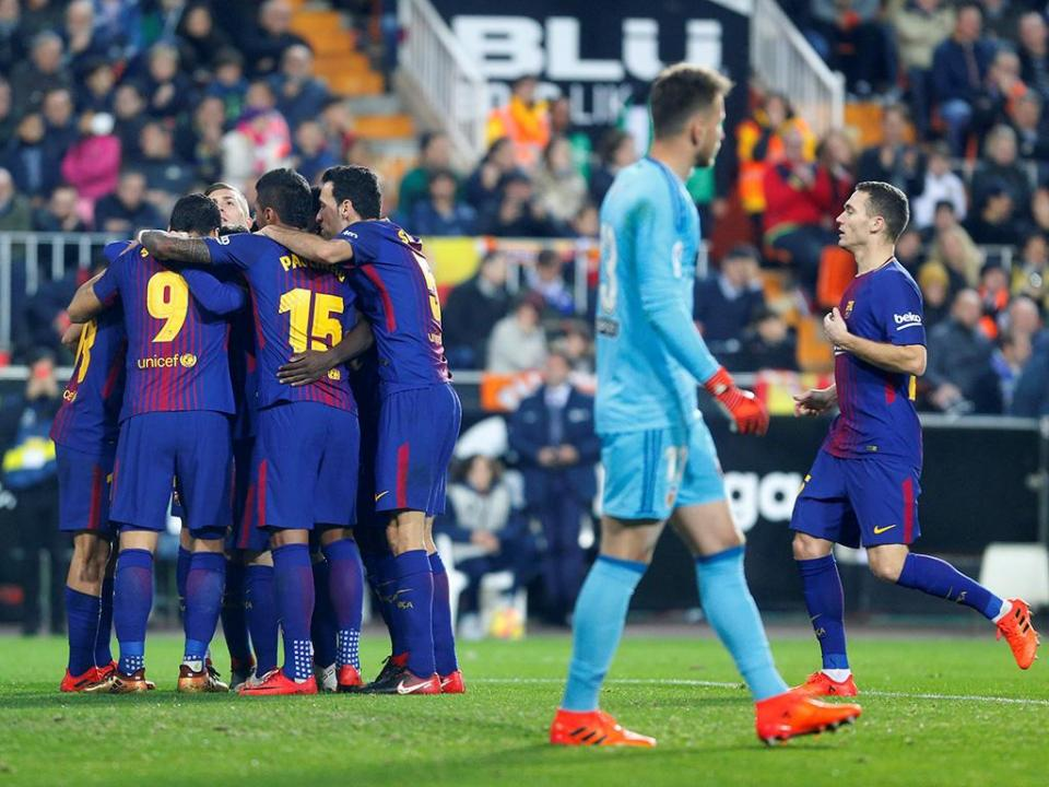 Atenção Sporting: Barcelona segue na Taça do Rei com goleada
