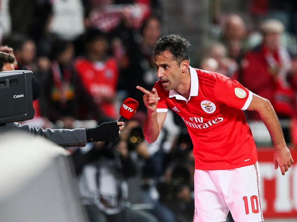 Benfica: Jonas dedicou golo a jovem da equipa B