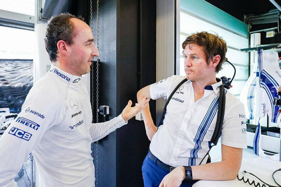 F1: é Kubica quem vai estrear o Williams FW41
