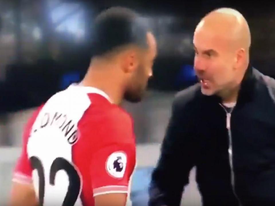 VÍDEO: Guardiola «pegou-se» com Redmond e revelou motivo