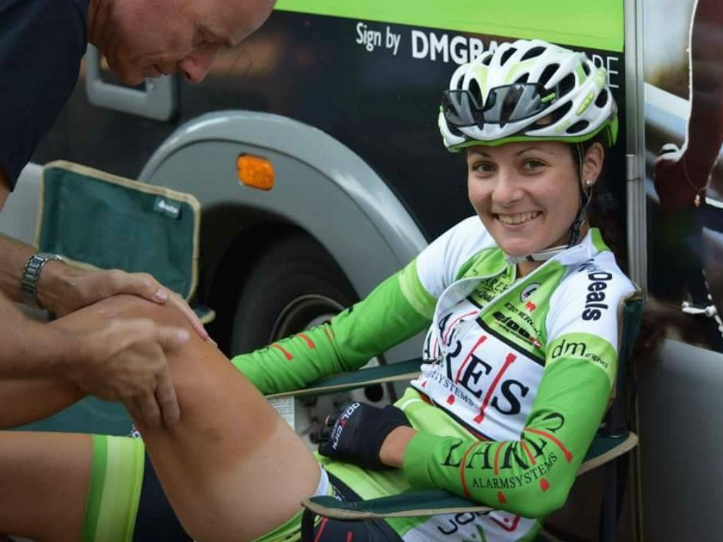 Daniela Reis: a única ciclista portuguesa lá fora, padeira nos dias livres