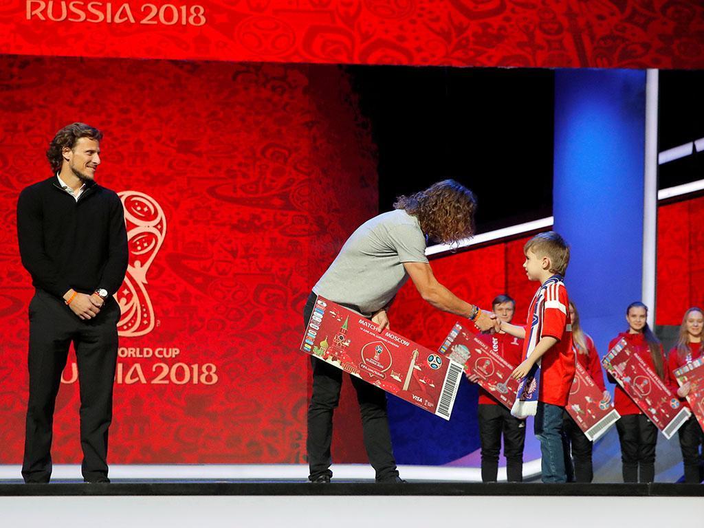 Mundial 2018: todos os grupos para a fase final