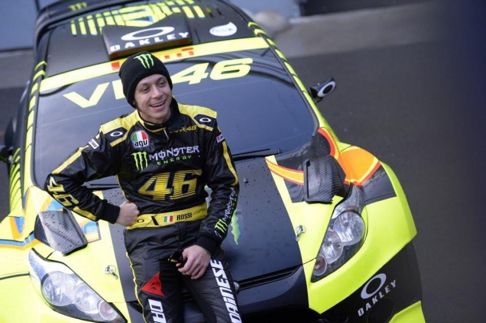Valentino Rossi quer alcançar a sétima vitória no Monza Rally Show