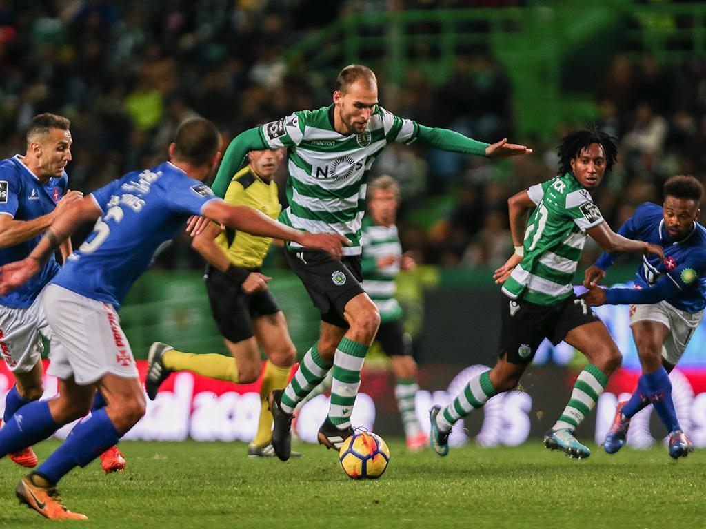 Sporting-Belenenses, 1-0 (resultado final)