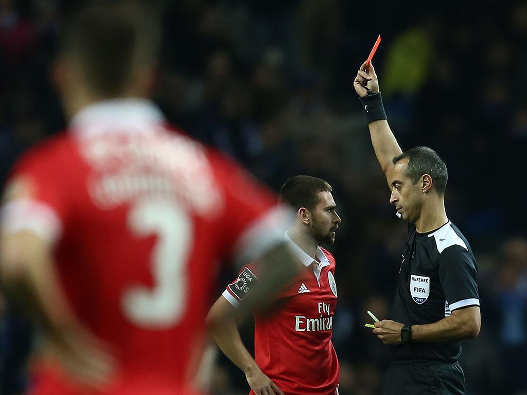 FC Porto-Benfica: relatório de Jorge Sousa ainda não foi divulgado