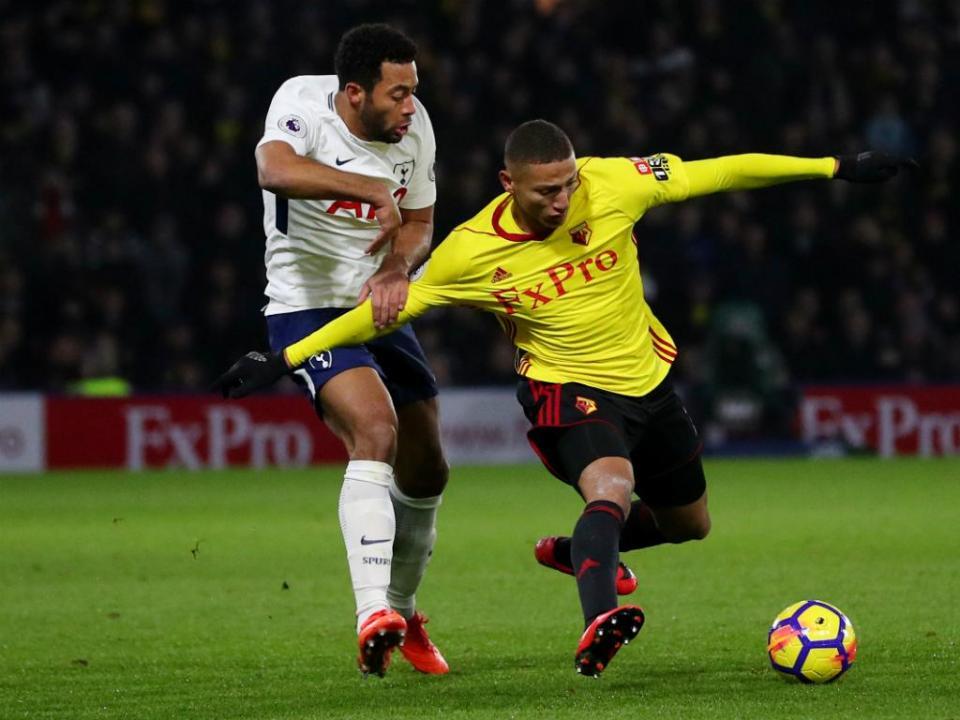 Watford de Marco Silva rouba dois pontos ao Tottenham