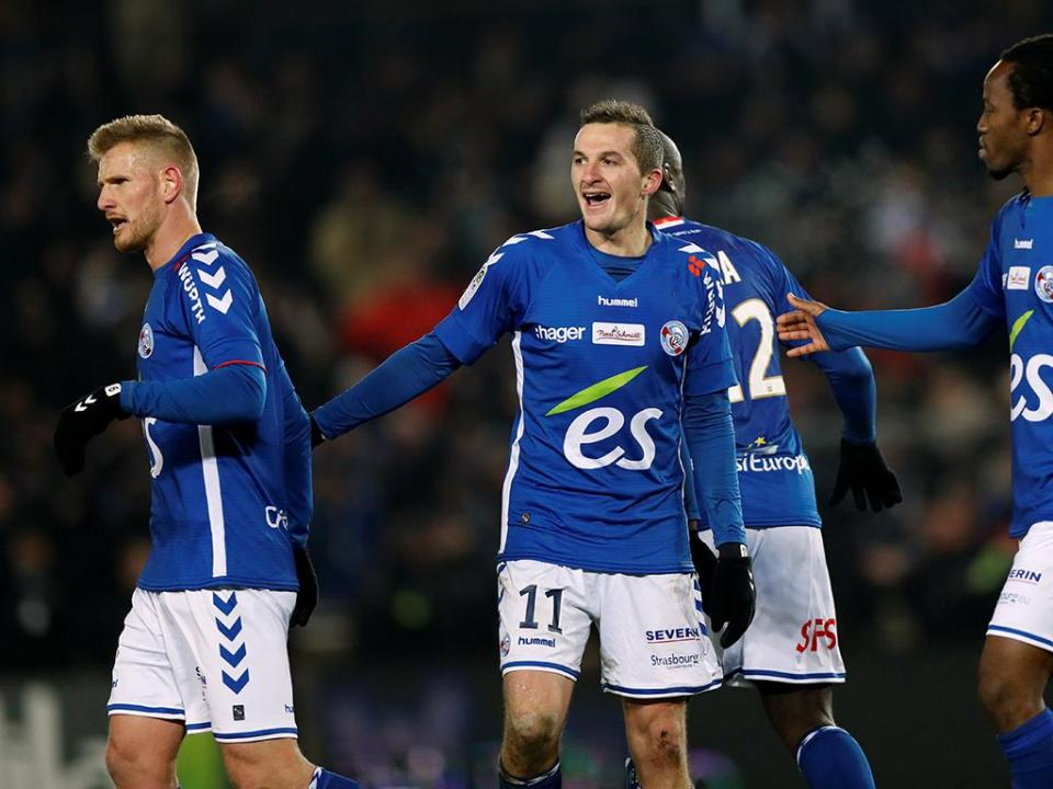 França: Caen venceu Estrasburgo por 2-0