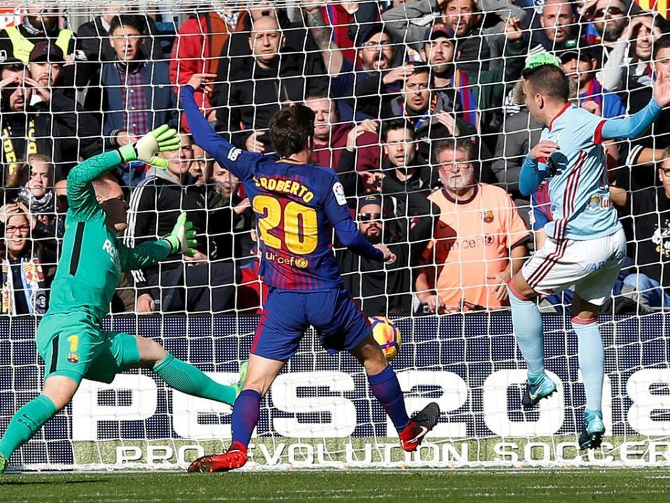 Sergi Roberto: «Sporting está a jogar muito bem»