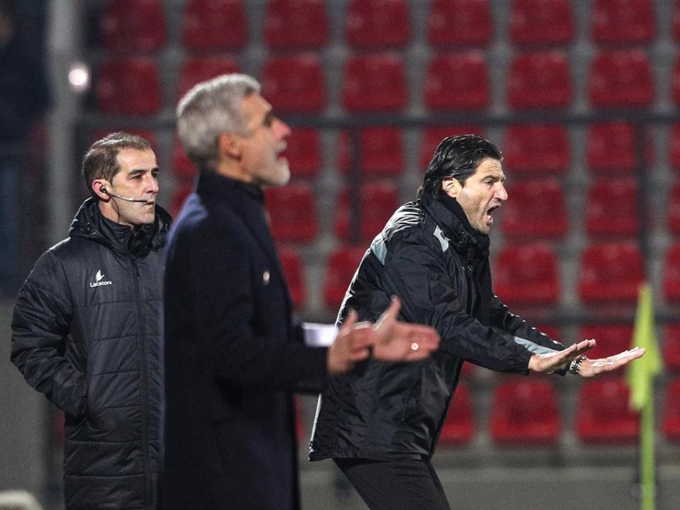 Luís Castro: «Foi um jogo bom para quem vê, não para quem treina»