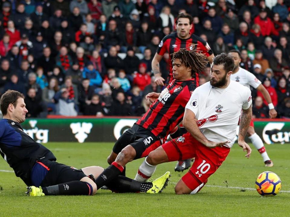 Bournemouth e Southampton empatam