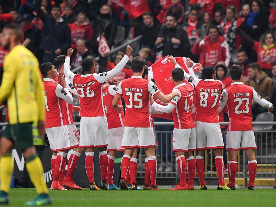 VÍDEO: o resumo da vitória do Sp. Braga sobre P. Ferreira