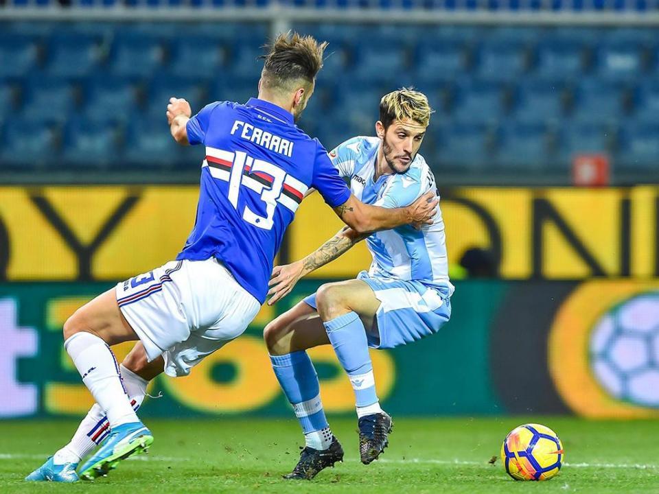 Lazio vira em Génova nos últimos dez minutos