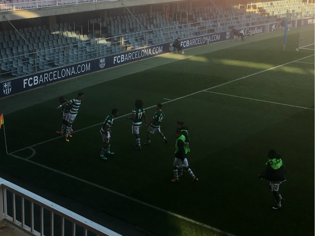 Youth League: Sporting empata em Barcelona ao cair do pano