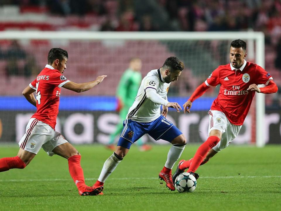Zero pontos: Benfica é a pior das 80 equipas na Champions e Liga Europa