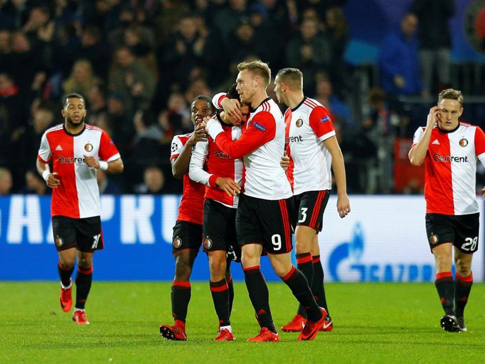 Holanda: arranque implacável dá triunfo ao Feyenoord