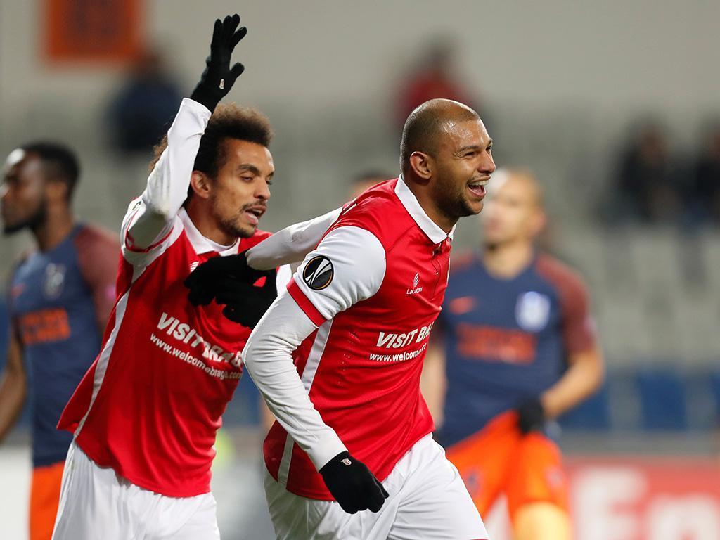 LE: Basaksehir-Sp. Braga, 2-1 (resultado final)