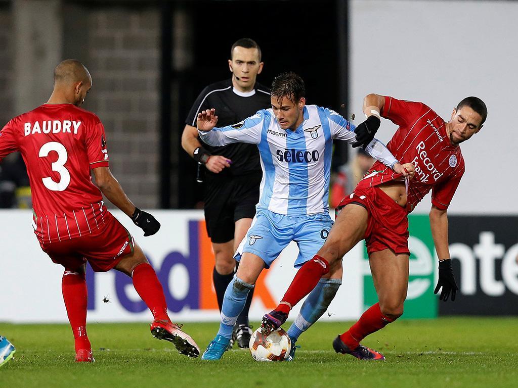 LE: Lazio perde na Bélgica mas acaba em primeiro