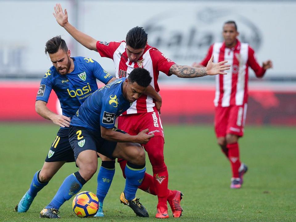 Desp. Aves-Tondela, 0-1 (crónica)