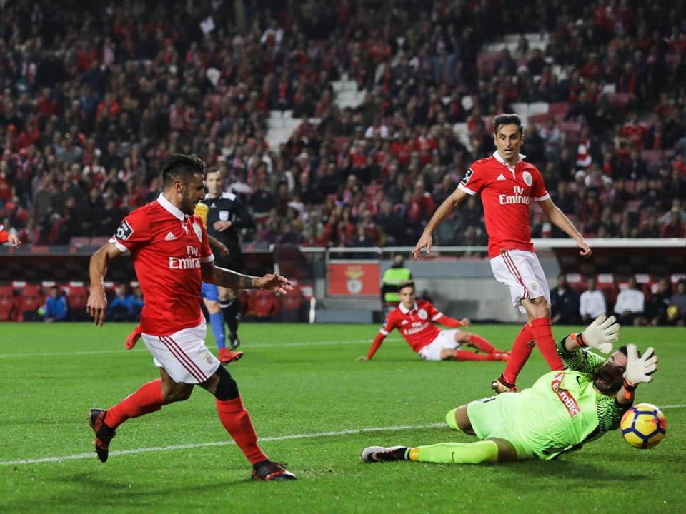 Benfica-Estoril, 3-1 (resultado final)