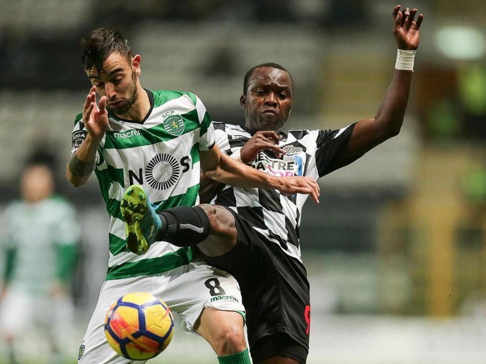 Sporting-Boavista: os onzes oficiais