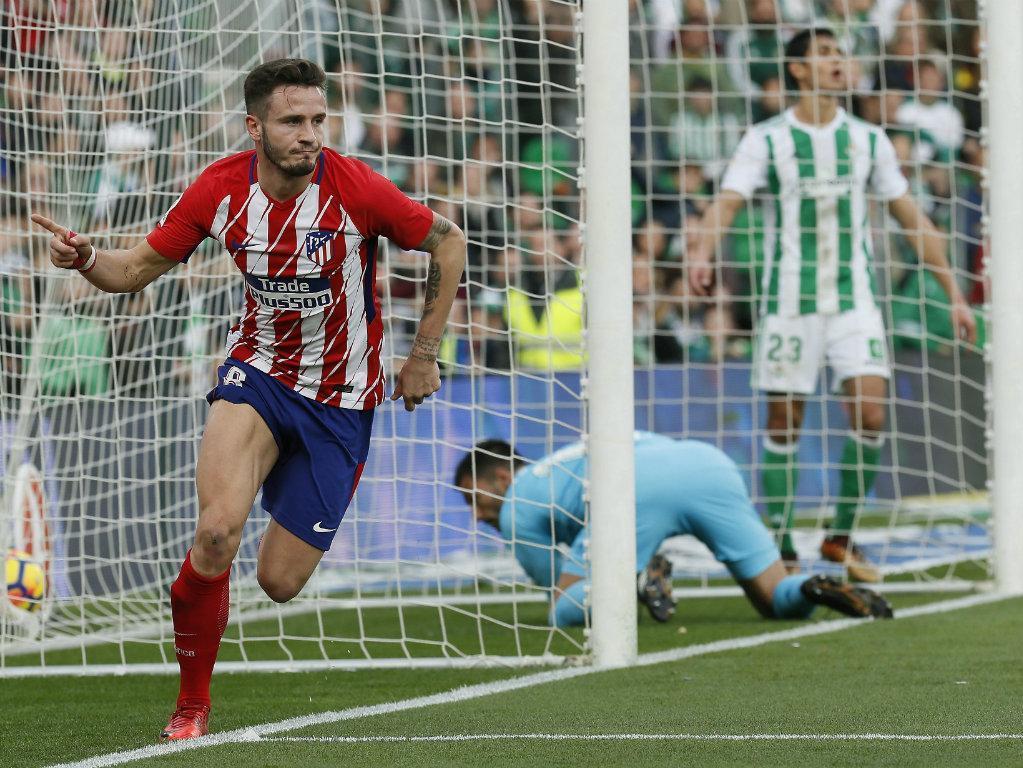 Atlético Madrid passa no Benito Villamarín com golo de Saúl e defesa espantosa de Oblak
