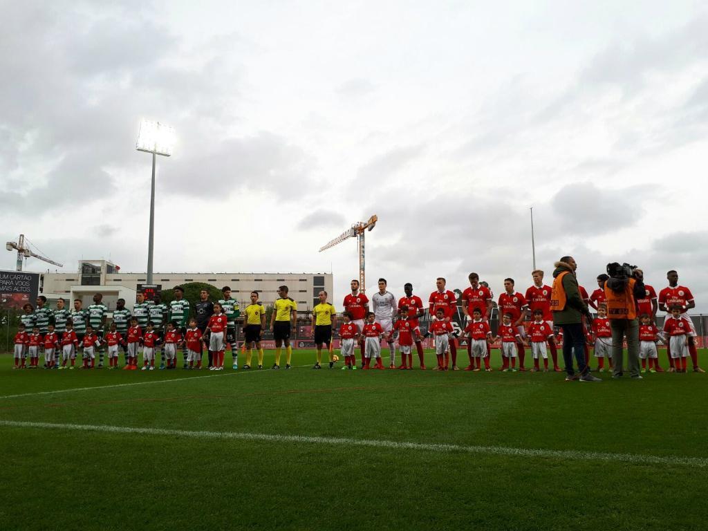 II Liga: Benfica vence Sporting no dérbi dos «Bês»