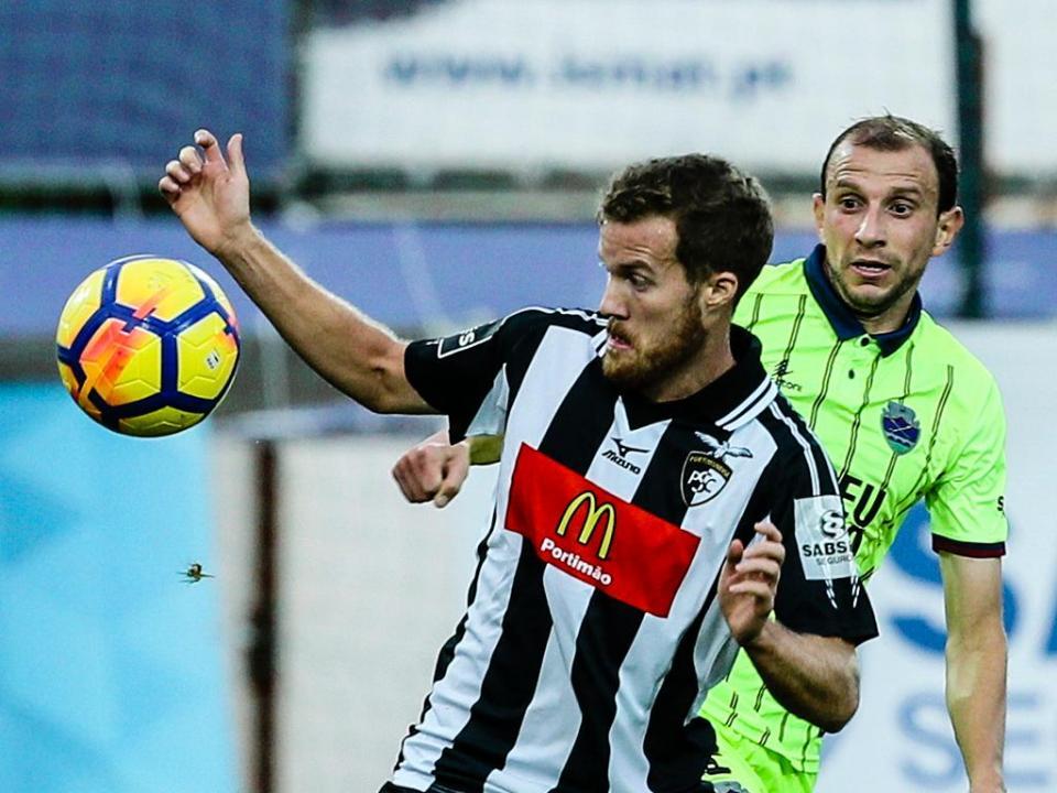 Portimonense-Desp. Chaves, 0-1 (resultado final)
