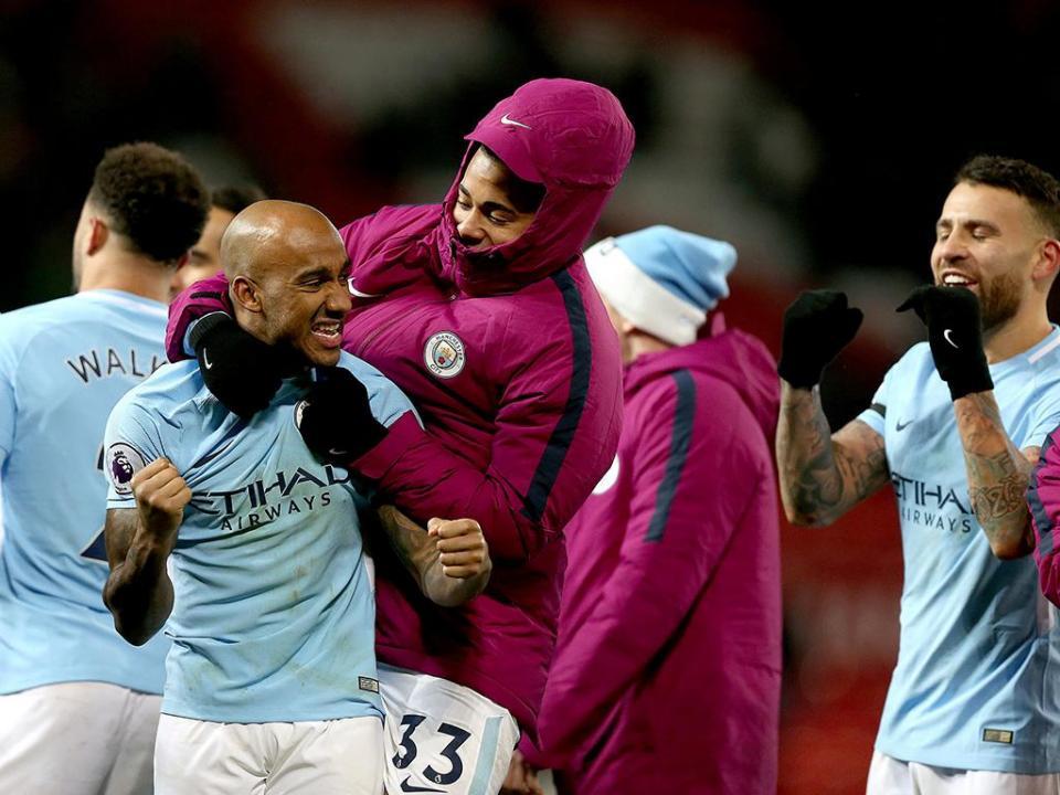 Man. City bate recorde de vitórias na liga inglesa