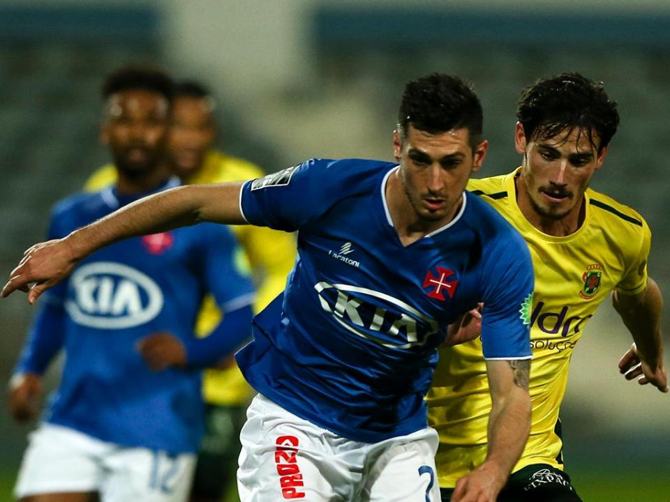 Belenenses-Paços Ferreira, 1-1 (resultado final)