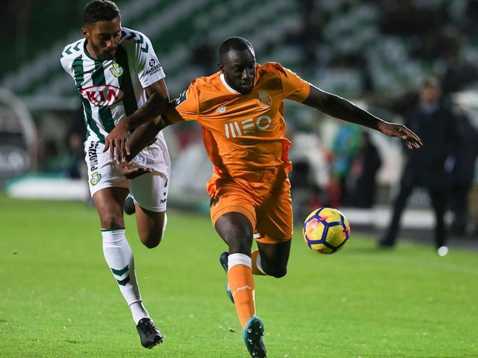 V. Setúbal-FC Porto, 0-5 (resultado final)