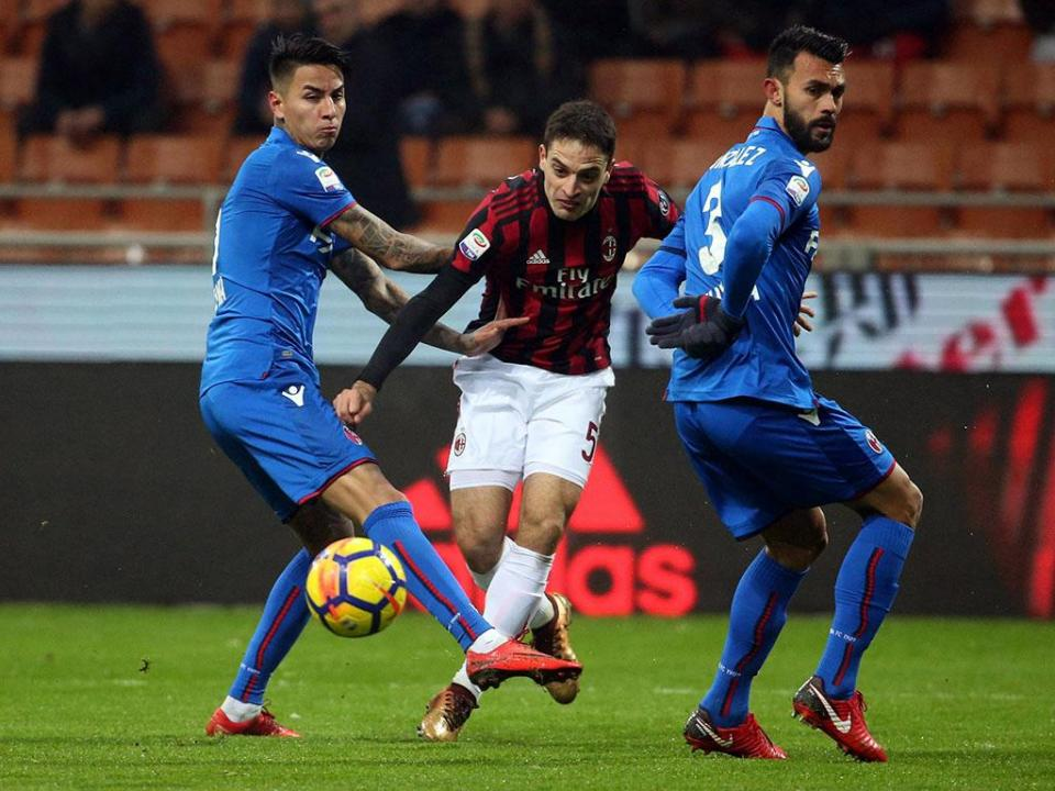 Bonaventura dá primeira vitória a Gattuso no comando do Milan