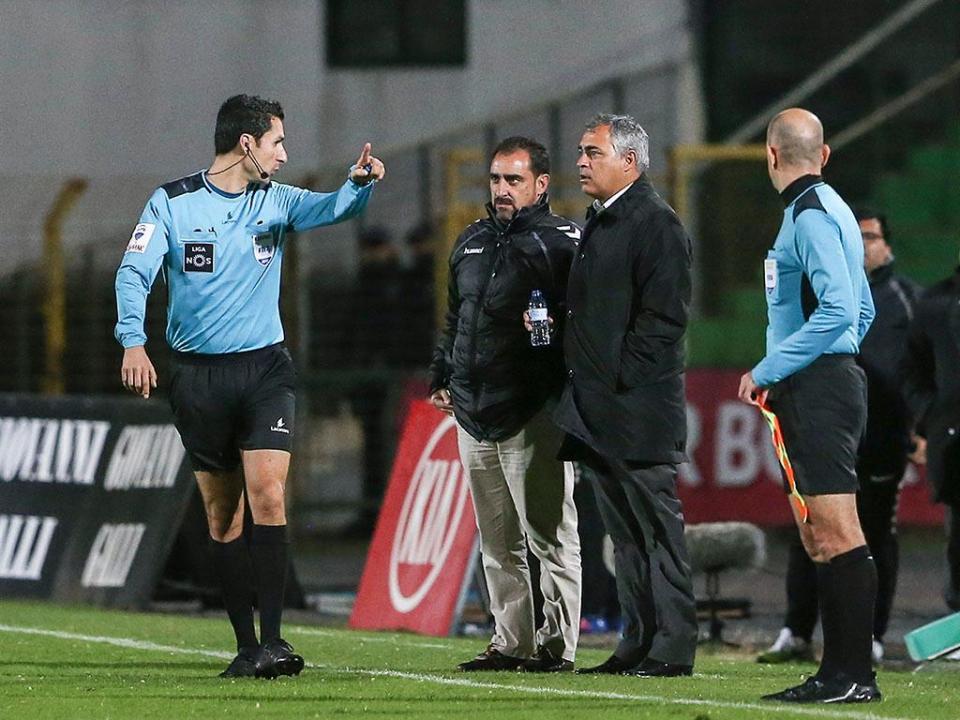 Adjunto de Couceiro reconhece dificuldades após «lance do primeiro golo»