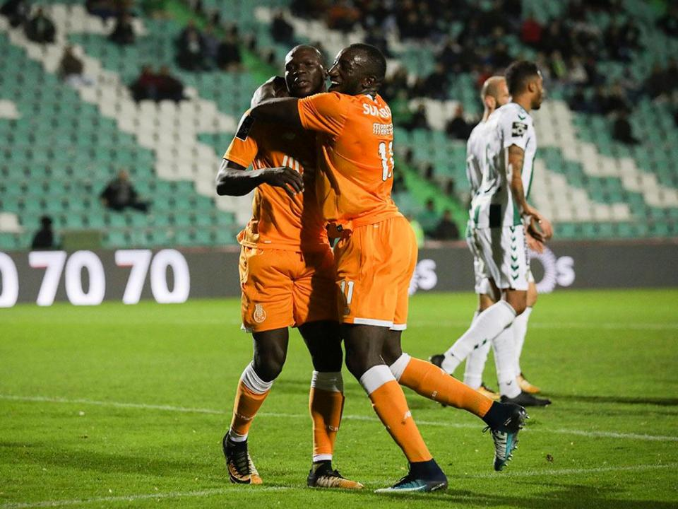 V. Setúbal-FC Porto, 0-5 (destaques)