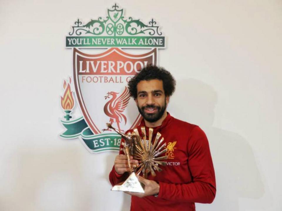 Atenção FC Porto: Salah foi jogador do mês na Premier League
