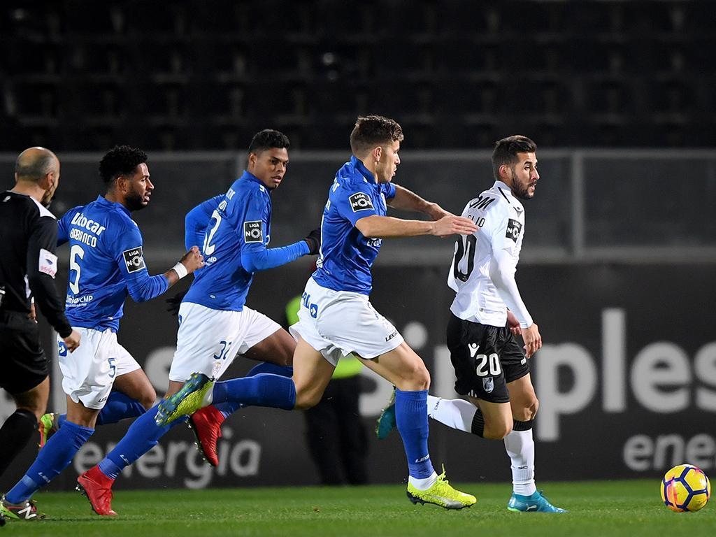 VÍDEO: golo de Hélder Ferreira dá os três pontos ao Vitória aos 90+5'