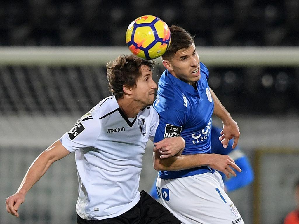 Vitória Guimarães-Feirense, 1-0 (crónica)