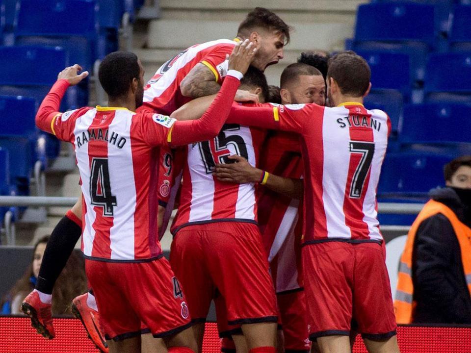 Girona goleia Las Palmas por 6-0 com hat trick de Olunga