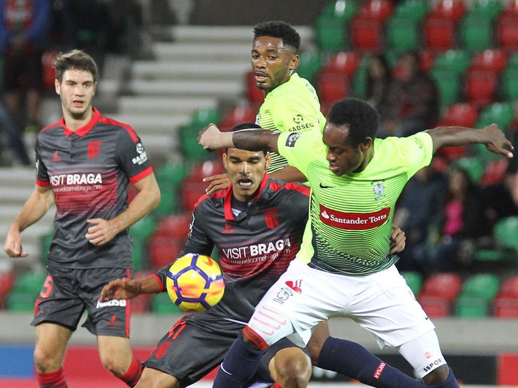 Marítimo-Sp. Braga, 1-0 (crónica)