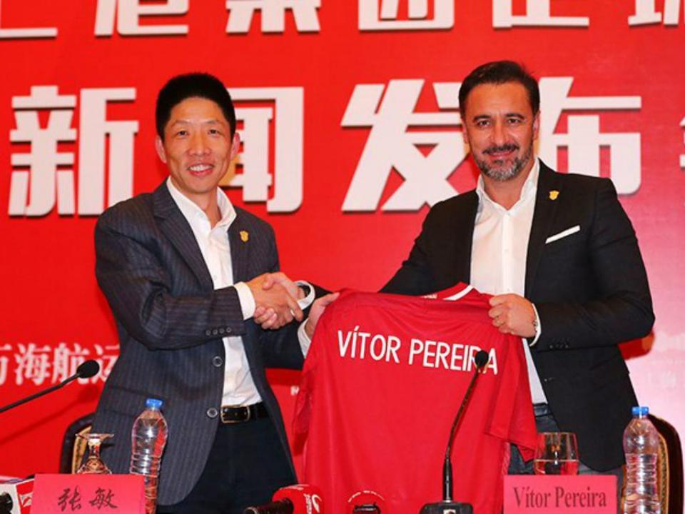 Vítor Pereira sofre primeira derrota pelo Shanghai SIPG
