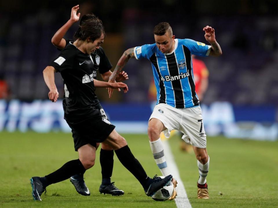 Mundial de Clubes: Grémio na final com golo de Everton