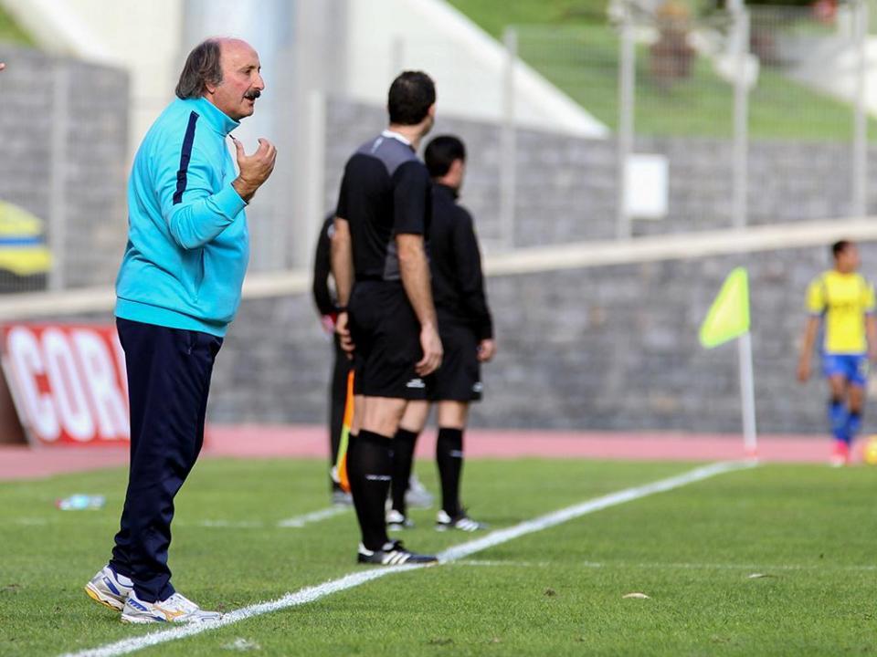 José Viterbo deixa comando técnico do União da Madeira
