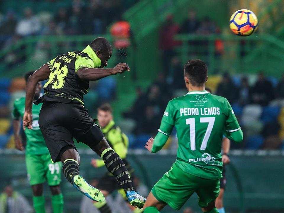 TP: Sporting-Vilaverdense, 4-0 (resultado final)